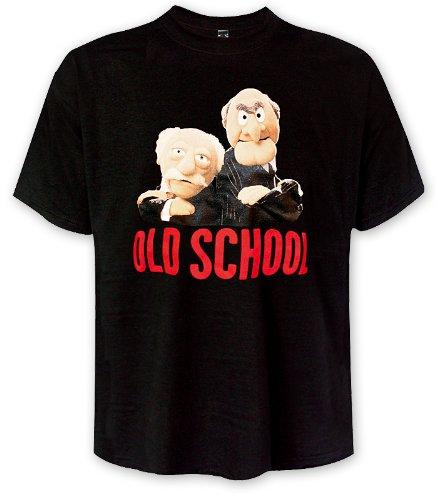 MUPPETS T-SHIRT GRANDMASTERS WALDORF & STATLER OLD SCHOOL (XXL) (Muppet Merchandise compare prices)