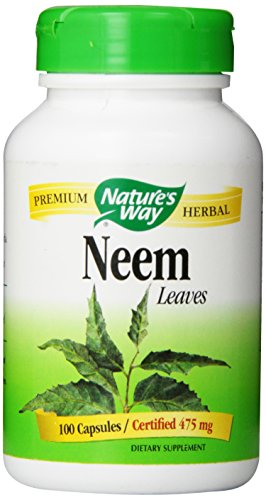 Nature's Way Neem Leaves, 475 mg, 100  Capsules