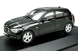 Paragon Models 91004 BMW 1 Series in Black Sapphire 1:43