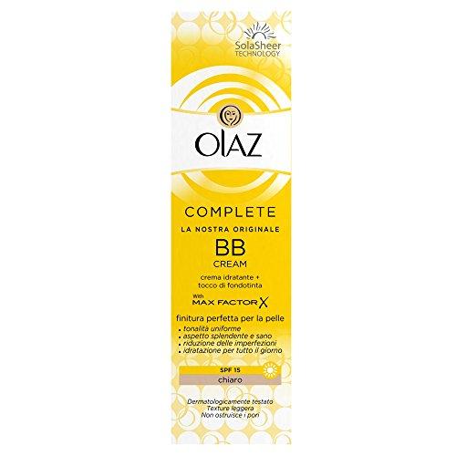 Olaz Complete BB Cream SPF 15 Skin Perfecting Tinted Moisturiser Chiaro 50 ml