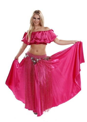 Miss Belly Dance Women's Belly Dance Tribal Costume Set