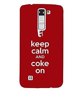 EPICCASE Coke power Mobile Back Case Cover For LG K10 (Designer Case)