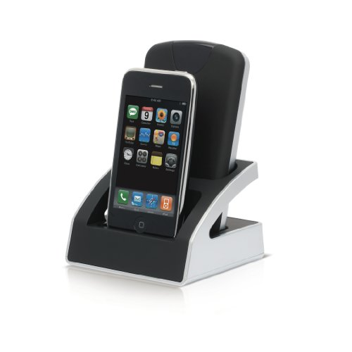 Buffalo Dualie 500GB Combined Portable Storage And Docking Station For The Apple i-phone Or Apple i-pod