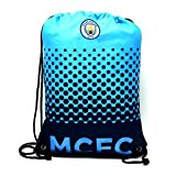 Manchester City FC Football Team Fade Drawstring Swimming Kit Gym Bag