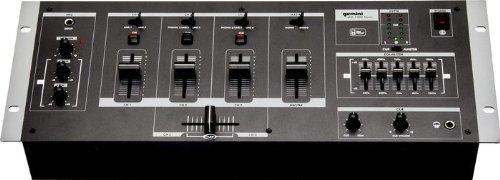 Gemini MM-1000 4-Channel DJ Mixer