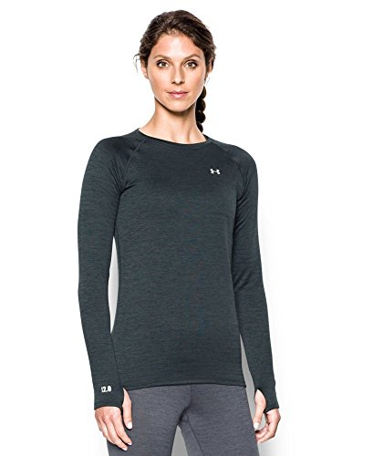 Under Armour Women's Base 2.0 Crew, Lead (029), Large (Thermal Hoodie Womens compare prices)