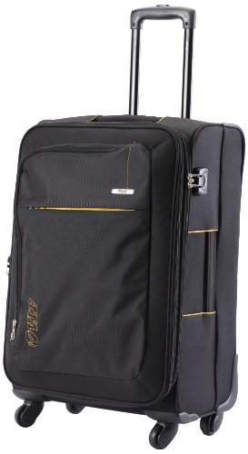 Vip VIP Neon Strolly Exp 4 Wheel Nylon Black Softsided Carry-On (STNEO75WBLK) (Blue)