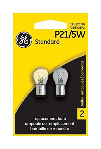 (USA Warehouse) Ge Miniature Lamps Bulb No. P21/5w/Bp2 12 V 2 / Carded Pack of 6 -/PT# HF983-1754305909 (P21 5w Bulb compare prices)