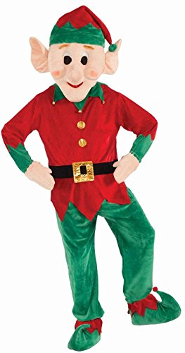 Christmas Elf Mascot - Standard One-Size
