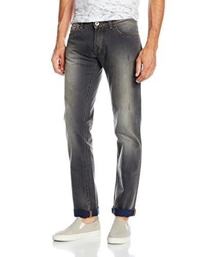 Trussardi Jeans Vaquero Gris Oscuro