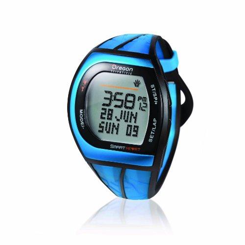 [オレゴン]Oregon 腕時計 アスリートモデル タッチパネル機能搭載 デジタル心拍計 チェストベルト付き ブルー SH201 メンズ 【正規輸入品】