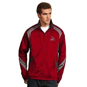 St Louis Cardinals Tempest Jacket (Team Color) by Antigua