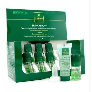 Rene Furterer Triphasic Regenerating Hair Loss Serum (For Progressive Hair Loss) - 8X5.5Ml/0.18Oz