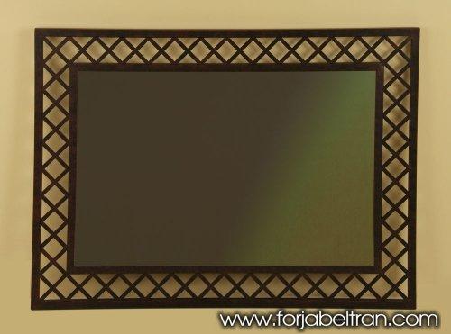 Wrought iron mirror MANHATTAN Model