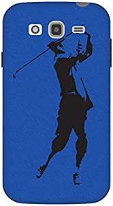 The Racoon Lean The Golfer hard plastic printed back case / cover for Samsung Galaxy Grand Neo