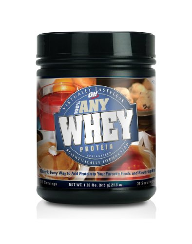 Optimum Nutrition 100% Any Whey Instantized Whey Protein, 1.35 Pound