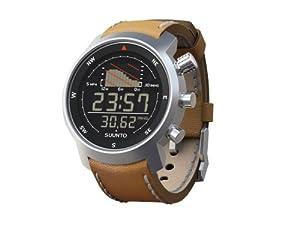 Suunto Elementum Ventus Watch - Brown Leather