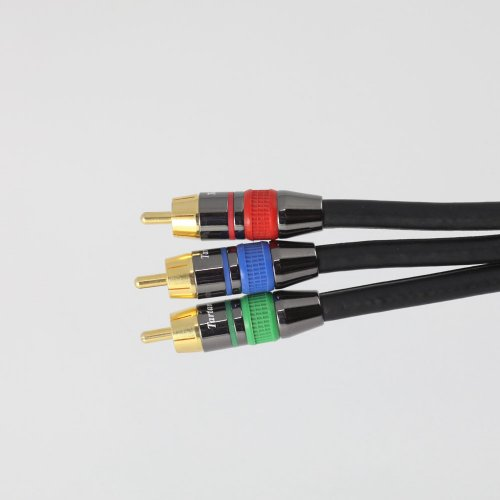 10 foot Component Video Cable, RCA/RCA; Tartan Cable brand, sold exclusively by Blue Jeans Cable