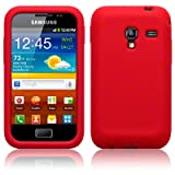 Terrapin Samsung S7500 Galaxy Ace Plus Silicon Skin By - Red