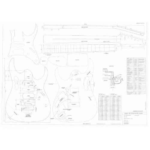 plans full scale technical design drawings jem 777 actual size plans