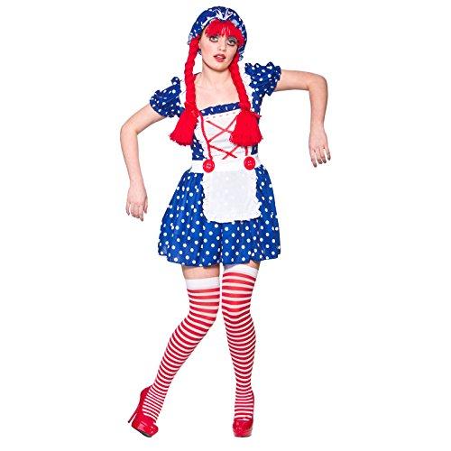 Donna Cute Ragdoll travestimento Halloween Bambola di pezza Dolly Anna
