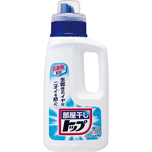 部屋干しトップ 洗濯洗剤 液体 本体 820ml