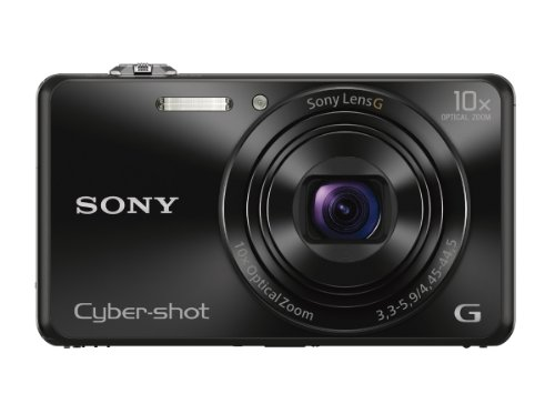 Sony DSCWX220/B 18.2 MP Digital Camera with 2.7-Inch LCD (Black) (Digital Camera Compact compare prices)