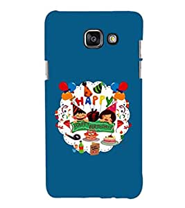 EPICCASE Happy Birthday Mobile Back Case Cover For Samsung Galaxy A7 (2016) (Designer Case)