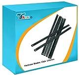 TK9K® - Mechanical Engineering Hacksaw Blades Junior Hacksaw Blades 10pk 150mm Strong, flexible long life carbon steel junior hacksaw blades.