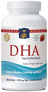 Nordic Naturals - DHA Strawberry - 180ct