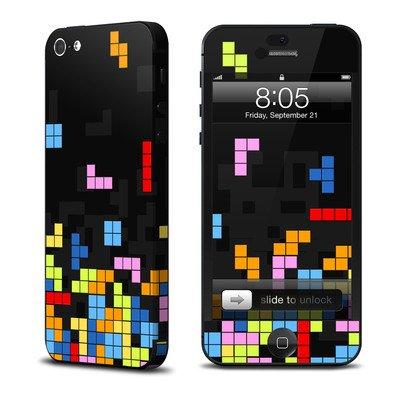 Apple iPhone5 スキンシール【Tetrads】