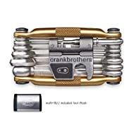 Crank Brothers Multi-19 Bicycle Tool with Aluminum Case - Gold - K1500320