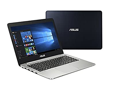 "Asus K401 14"" Ultra Slim Full HD Notebook Computer, Intel Core i7-5500U 2.4GHz, 8GB RAM, NVIDIA GeForce 940M GDDR3 2GB, 750GB HDD, Windows 10"