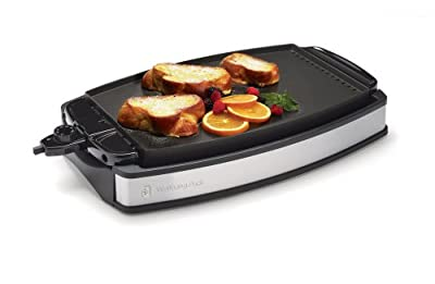 Wolfgang Puck Indoor Electric Reversible Grill & Griddle from Wolfgang Puck