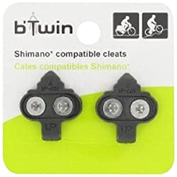 Btwin SPD-Compatible-Cleats-Pedals, Adult
