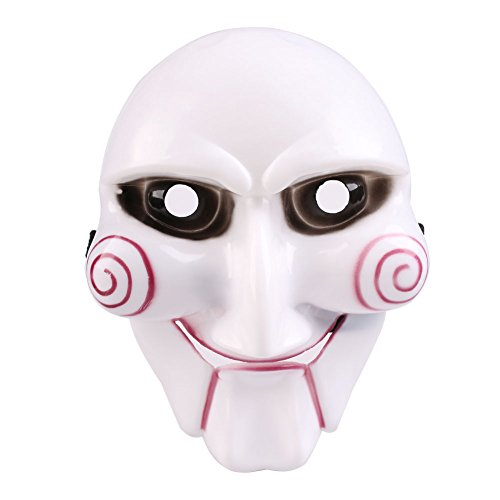 Ecool the Saw Figure Mask Overhead Collectors Scary Gadgets with Fastener