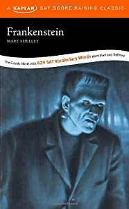 "Cover of ""Frankenstein: A Kaplan SAT Scor..."