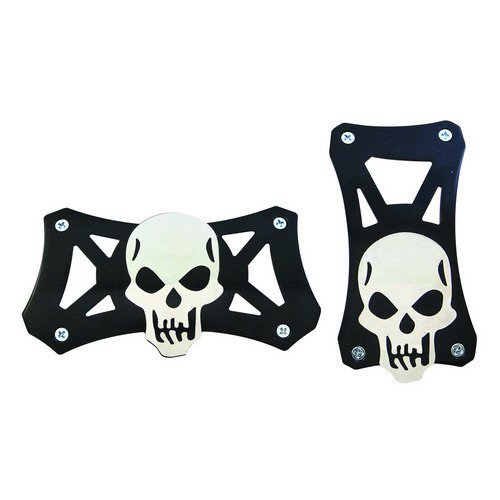 Pedal Covers, Skull Style Universal Racing Pedal Pad For Automatic Transmission (Automatic Transmission Pedals compare prices)