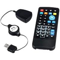 PC Laptop IR Fernbedienung Remote mit USB Empfänger Neu