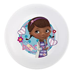 Zak Designs Doc McStuffins Melamine Bowl, 5.5-Inch, Set of 6