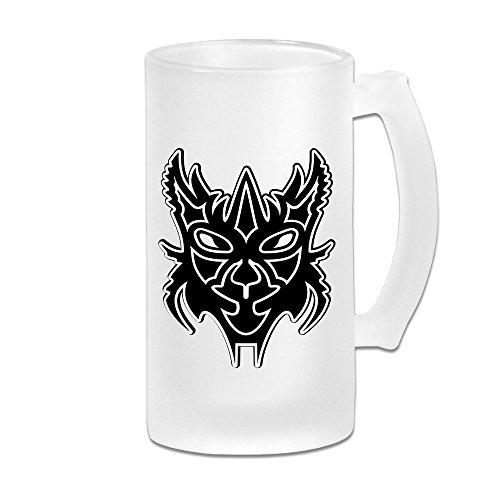 DonSir Horror Mask Personalized Custom Beer Mug