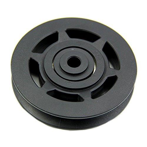 toogoor-95mm-black-bearing-pulley-wheel-cable-gym-equipment-part-wearproof