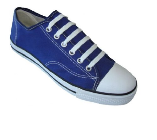 Womens Classic Canvas Shoes Sneakers 6 Colors (8, Navy 327L)