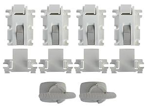 Amazon.com : Kidco Adhesive Mount Magnet Lock 2 Starter ...