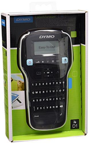 Dymo S0946310 Etichettatrice Portatile Labelmanager 160, Nero