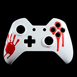 E Xtreme Rate Blood Hand Front Shell Face Plate Replacements Parts For Microsoft Xbox One Controller