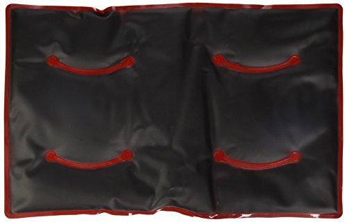 WENKO 71169500 - Cuscino termico, in plastica, 48 x 2 x 30 cm, rosso