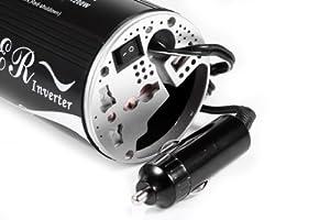 Winten DC/AC Wechselrichter Spannungswandler Inverter 12V auf 230V 200W (Dauerleistung) für Ihr Notebook, mit USB Ausgang (800 mAh) für Ihr iPhone und Smartphone from Winten