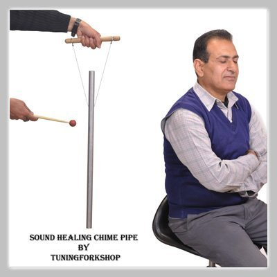mid-om-13610-hz-healing-tuned-pipe-louder-than-tuning-fork-with-mallethand-stand-free-shipping-by-tu