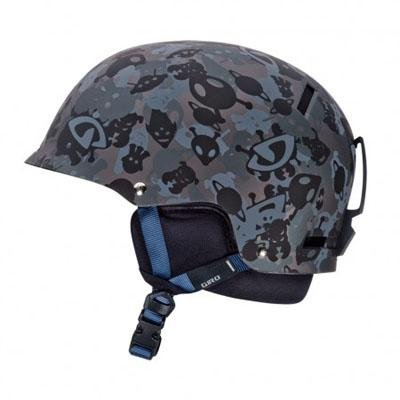 Giro Tag Snow Helmet, Matte Alien Camo, Medium